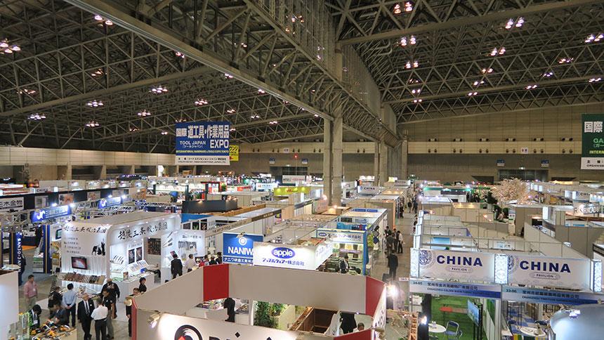 동대는 초대를 응해 일본 국제농업전시회에 참석